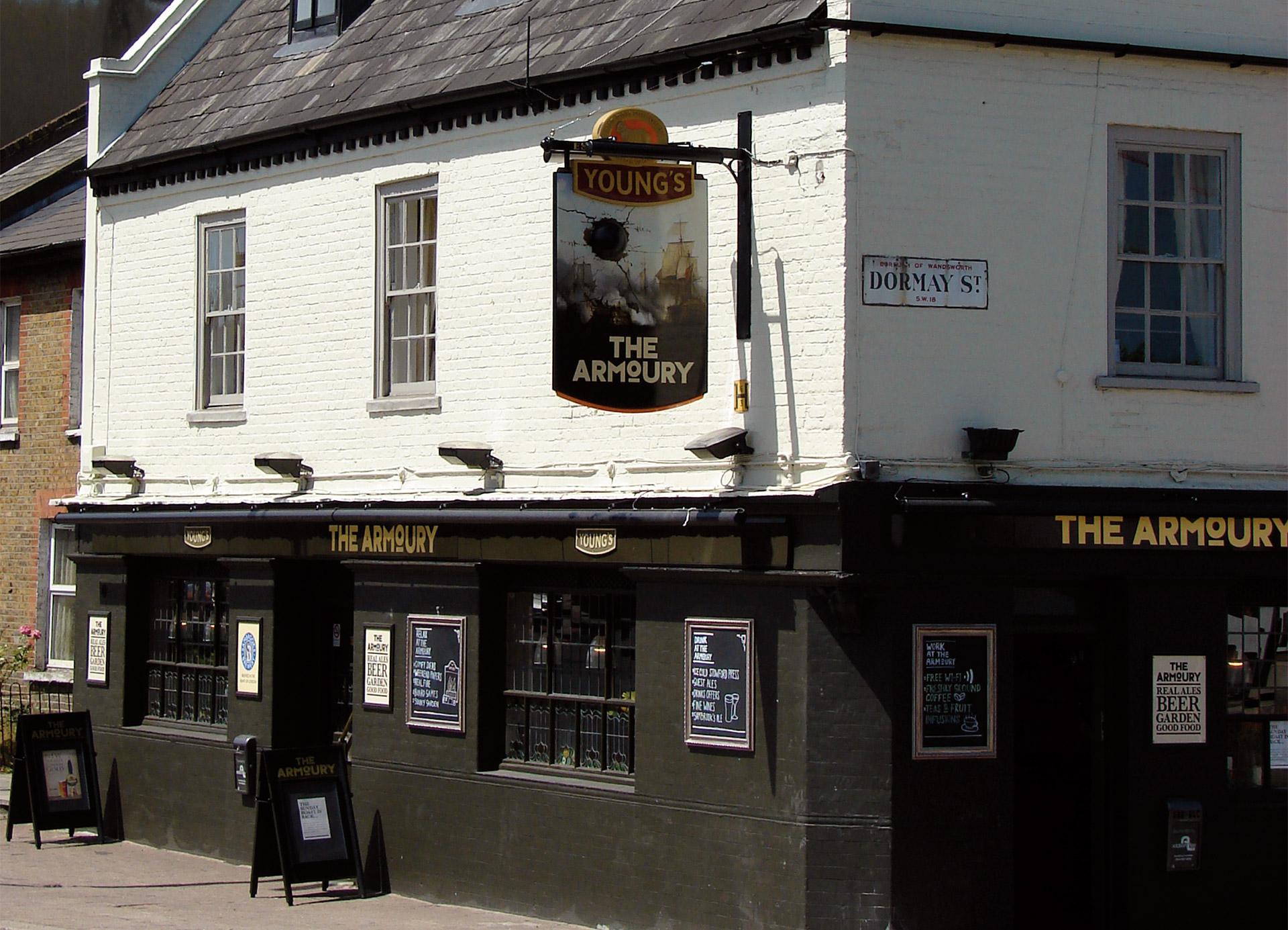 Armoury-Pub