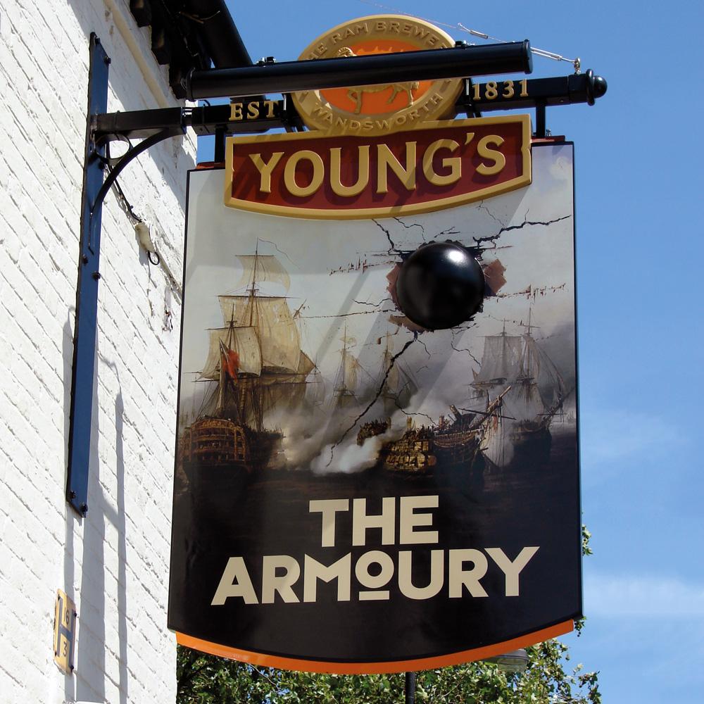 Armoury-Sign